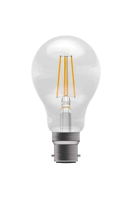 BELL 60052 6W LED Dimmable Filament GLS ES Clear 4000K